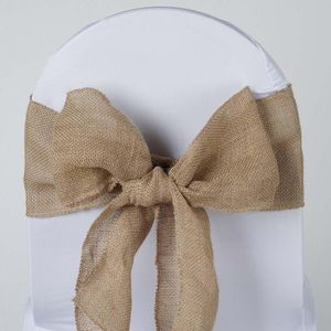 50 Burlap chair sashes for Sale in Compton, CA