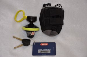 ABUS GRANIT VICTORY XPLUS 68 YELLOW ROLL UP for Sale in Encinitas, CA