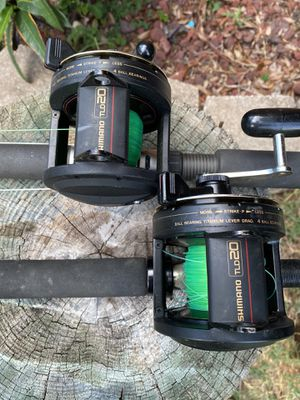 Shimano TLD 20 conventional reels for Sale in Dade City, FL