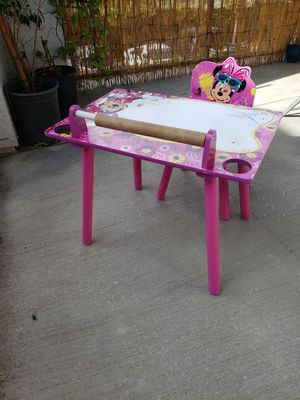 Table and chair for kids for Sale in Etiwanda, CA