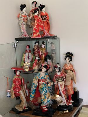 Chinese traditional dolls 14 pcs for Sale in Rockville, MD