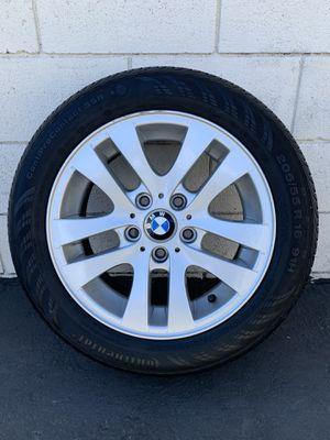 """BMW 16"""" rims wheel & tire 205/55 R 16 for Sale in San Angelo, TX"""