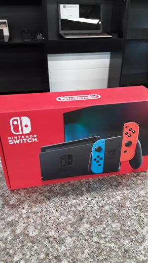 New- Nintendo Switch Game Console for Sale in Willoughby, OH