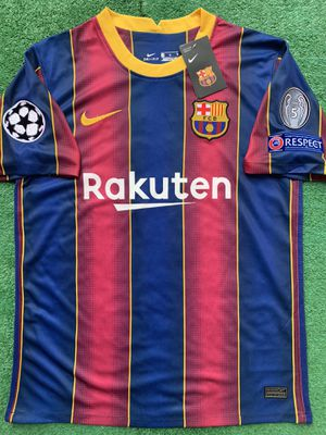 2020/21 FC Barcelona soccer jersey Messi for Sale in Raleigh, NC