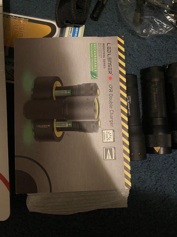 Led lenser flash lights