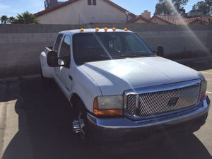 2001 Ford-F350 súper Duty crew cab dually for Sale in Las Vegas, NV