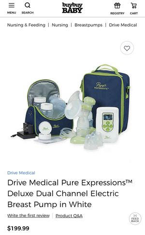 Pure Expressions Breast Pump for Sale in Haines City, FL