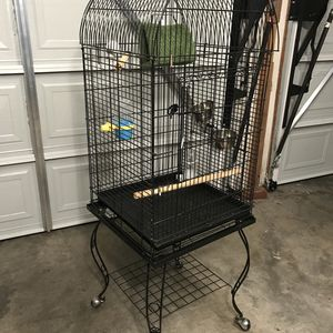 Bird cage (5 ft from ground) for sale for Sale in Costa Mesa, CA