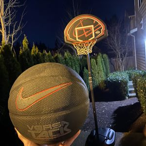 Bascketball Hoop Life Time and Nike Ball for Sale in Kirkland, WA