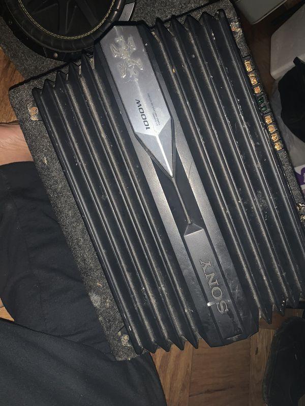 1000 watt Sony amp