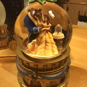 Beauty & The Beast Musical Snow Globe for Sale in Newcastle, CA