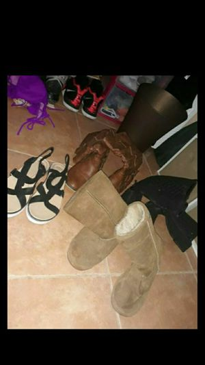 Womens girls boots and shoes for Sale in Hialeah, FL
