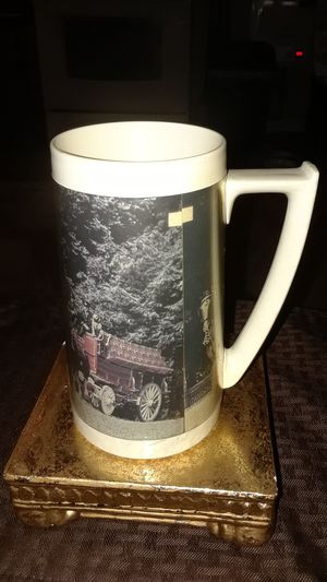 SALE VINTAGE RARE BUDWIEISER THERMO SERV PLASTIC BEER MUG for Sale in Johnston, RI