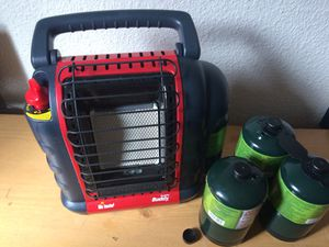 MR HEATER BUDDY WITH PROPANE for Sale in Vancouver, WA