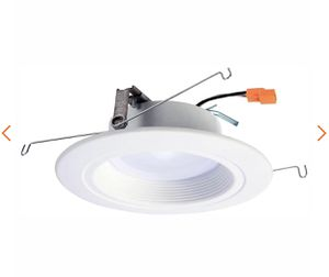 Halo RL 5 in. and 6 in. White Integrated LED Recessed Ceiling Light Fixture Retrofit Downlight at 90 CRI, 5000K Daylight- NEW IN BOX for Sale in San Antonio, TX