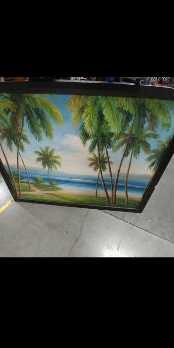 Palms painting
