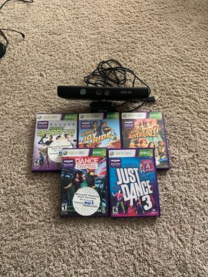 Kinect Xbox 360 with games for Sale in Redmond, WA