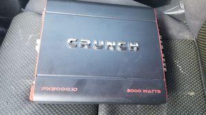 Amplificador crunch de 2000w $120 for Sale in CRYSTAL CITY, CA