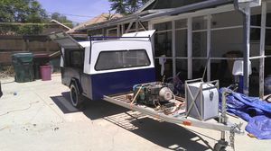 CUSTOM BUILT CAMPING TRAILER $4000 OBO for Sale in Banning, CA