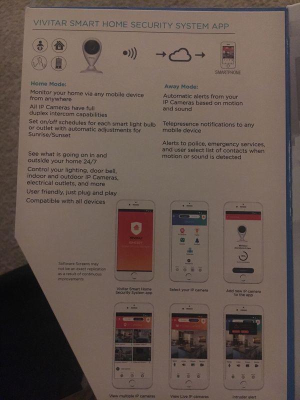 Vivitar Smart Security HD Camera