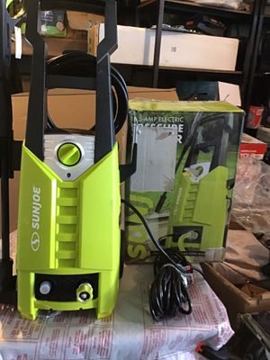 SunJoe pressure washer like new excellent condition open box complete never used complete price is firm for Sale in Las Vegas, NV