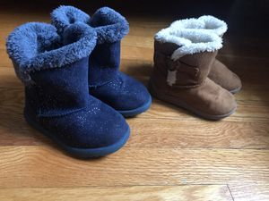 Toddle girl boots size 6 for Sale in Waterbury, CT