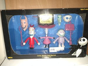 2004 NECA Nightmare Before Christmas bendable figures for Sale in Oak Forest, IL