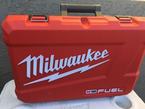 Milwaukee empty combo hard case for Sale in North Highlands, CA