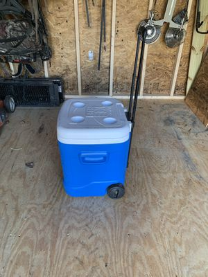 Igloo cooler in wheels for sale for Sale in Raleigh, NC
