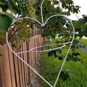 $25.00 - Heartshaped Planter Holder, Multifunctional/Iron/Large - Lowest Price for Sale in Miami, FL