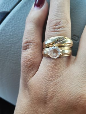 Ring weddings 14k size 7 for Sale in Tolleson, AZ