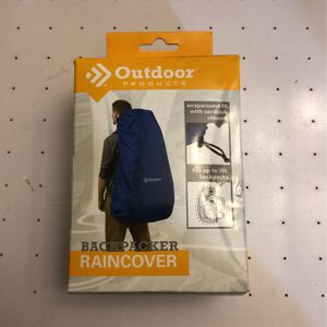 NEW Outdoor Backpack Raincover for Sale in Puyallup, WA