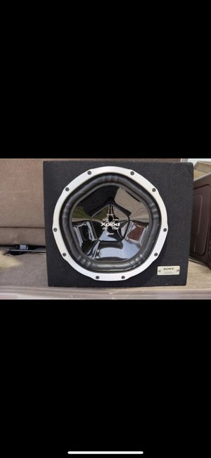 Sony XS Car subwoofer for Sale in Santa Fe Springs, CA