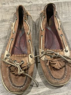 Sperry Fringe Boat Shoes Women's Size 9.5 for Sale in Washington,  DC
