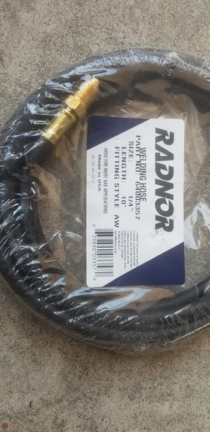 "Welding Gas Hose 1/4"" x 10' New for Sale in Long Beach, CA"