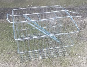 Bicycle Basket With Double Basket Holder for Sale in Lancaster, TX