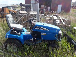 (TORO) New Holland GT 22 hp lawn tractor w/ snowplow- Riding mower for Sale in Elizabeth, CO