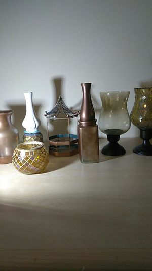 Decorative Glass in Gold and Copper tones for Sale in Tacoma, WA
