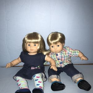 American Girl Doll Bitty Baby Twins for Sale in McAfee, NJ