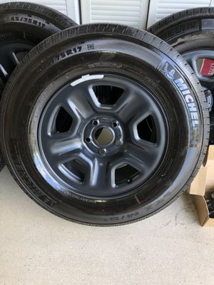 2020 Jeep Wrangler Unlimited Sport Wheels/Tires + Floor Mats for Sale in Tarpon Springs, FL