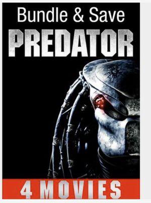 Predator 4 Movies Bundle - Digital Copy Code - VUDU HDX Movie for Sale in Jurupa Valley, CA