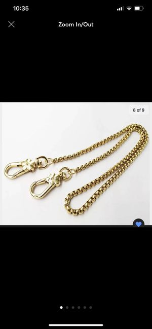 Replacement chain straps for bag/wallet for Sale in Fort McDowell, AZ