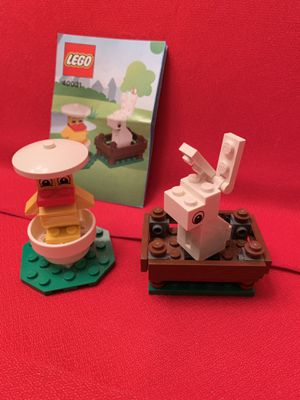 LEGO 40031 Seasonal Set Bunny and Chick w/instructions for Sale in Chandler, AZ
