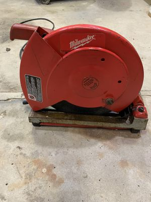 "Milwaukee 14"" cut off saw for Sale in Canonsburg, PA"