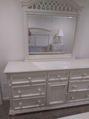 Dresser and bed frame for Sale in Stuart, FL