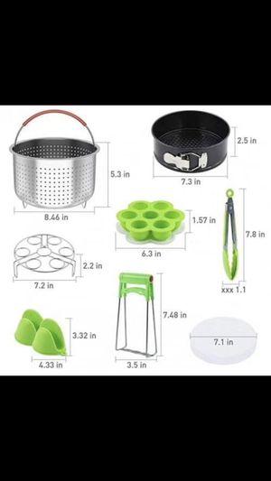 Brand new Pressure Cooker Accessories Set Compatible with Instant Pot Accessories 6 qt 8 Quart for Sale in Tamarac, FL
