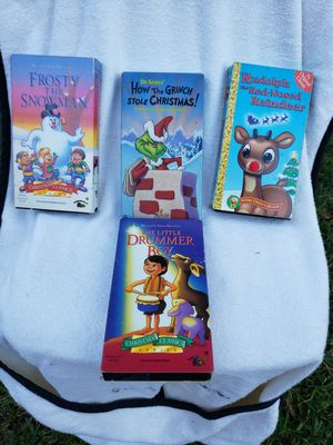 4 Vintage VHS Christmas Classics for Sale in Houston, TX