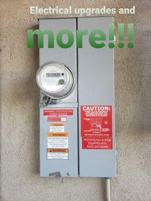 Panel upgrade for Sale in Rossmoor, CA