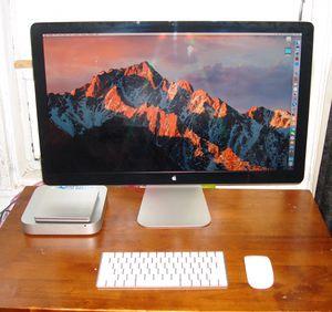 "Apple Mac mini 2.6Ghz i5 16GB RAM 27"" monitor for Sale in New York, NY"