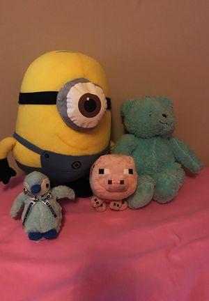 Stuffed animal bundle for Sale in Spartanburg, SC